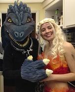 Khaleesi Dragon Homemade Costume