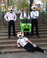 Kia Soul Hamsters Homemade Costume