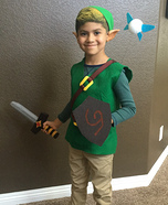 Kid Link from the Legend of Zelda Homemade Costume