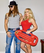 Kid Rock & Pam Anderson Homemade Costume