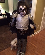 Kiddo Kiss Homemade Costume