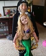 Kidnapped Mermaid Illusion Costume