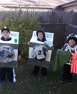 Kiesler Boys Laundry Day Homemade Costume