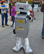 Killer Candy Robot Homemade Costume