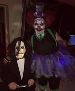 Killer Clown Homemade Costume