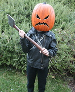 Killer Pumpkin DIY Costume
