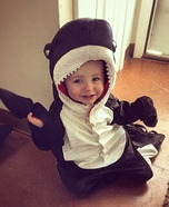 Killer Whale Baby Costume