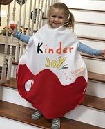 Kinder Egg Homemade Costume