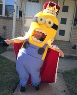 King Bob Minion Homemade Costume