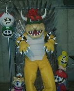 King Bowser and the Game of Thrones Homemade Costume