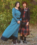 King Fergus and Queen Elinor Homemade Costume