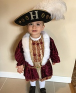 King Henry VIII Homemade Costume