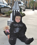 King Kong Baby Homemade Costume