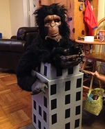 King Kong on Empire State Building Homemade Costume