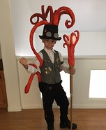 King Kraken Homemade Costume