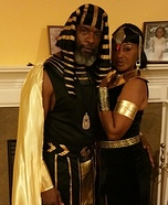 King & Queen of Egypt Costume
