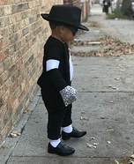 King of Pop Baby Homemade Costume