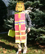 King Tut Homemade Costume