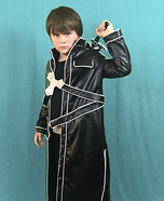 Kirito from Sword Art Online Homemade Costume
