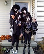 Kiss Band Costumes