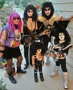 KISS Homemade Costume