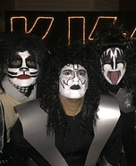 KISS Band Halloween Costume