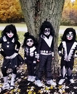 Kiss Band Homemade Costume