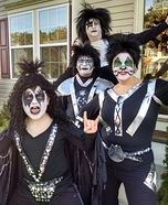 Kiss Family Homemade Costume