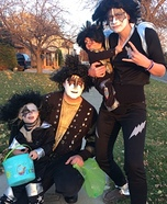 Kiss Family Halloween Costume