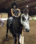 KISS Horse Halloween Costume
