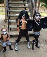 KISS is back! Homemade Costume