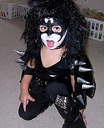 KISS costume for kids