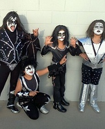 KISS Kids Costumes
