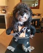 KISS Paul Stanley Dog Homemade Costume