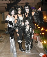 KISS Rock Band Homemade Costume
