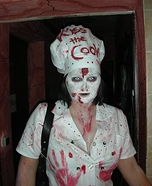 Kiss the Cook Homemade Costume