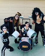 Kiss Tribute Homemade Costume