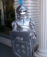 Knight in Shining Armor Homemade Costume