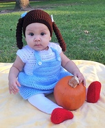 Knitted Dorothy Homemade Costume