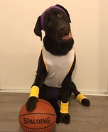 Kobe Bryant - LA Lakers Basketball Player Homemade Costume