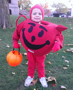 Kool-Aid Man Homemade Costume
