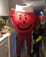 Kool Aid Man Homemade Costume