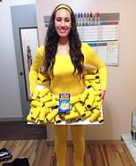 Kraft Dinner Homemade Costume