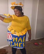 Kraft Mac and Cheese Singles Cup Homemade Costume