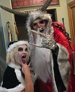 Krampus and Evil Elf Homemade Costume