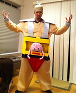 Homemade Krang Costume
