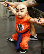 Krillin Baby Homemade Costume