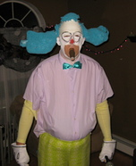 Krusty the Clown Homemade Costume