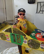 Kyle Busch Junior Homemade Costume