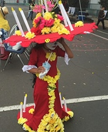 La Muerte from The Book of Life Costume for Girls